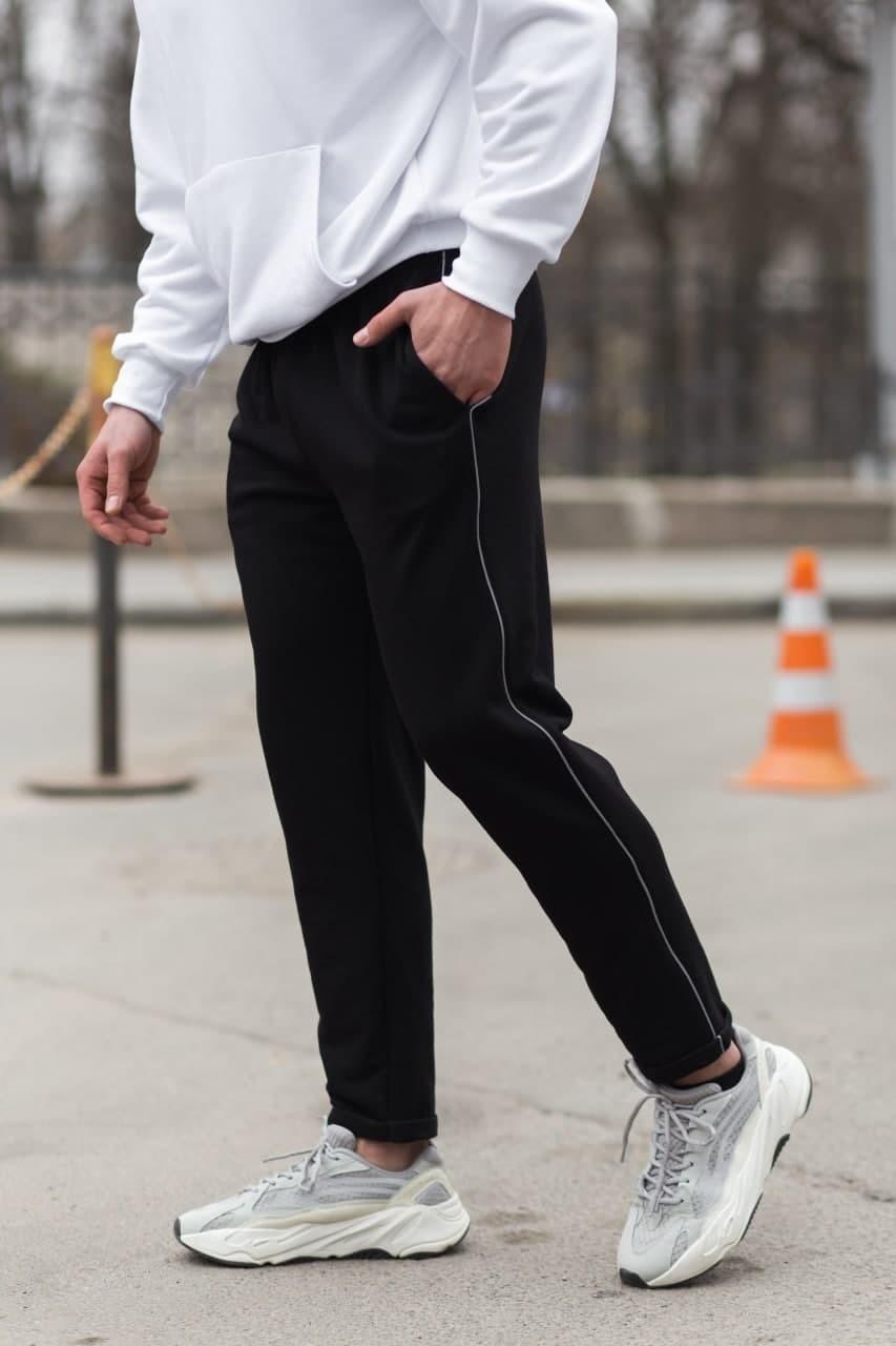 Мужские трикотажные спортивные штаны VIDLIK Kant Light черные