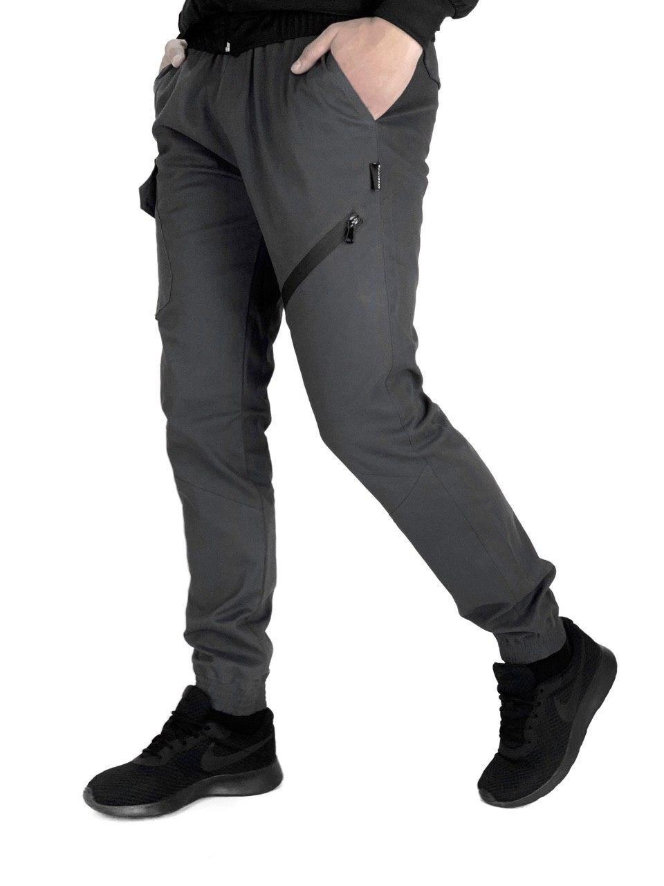 Мужские штаны Intruder Fast Traveller серые