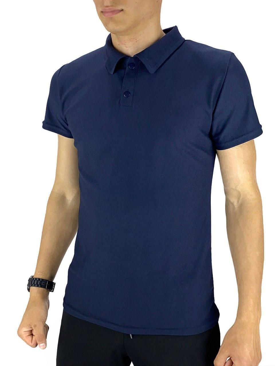 Мужская футболка поло Intruder LaCosta синяя