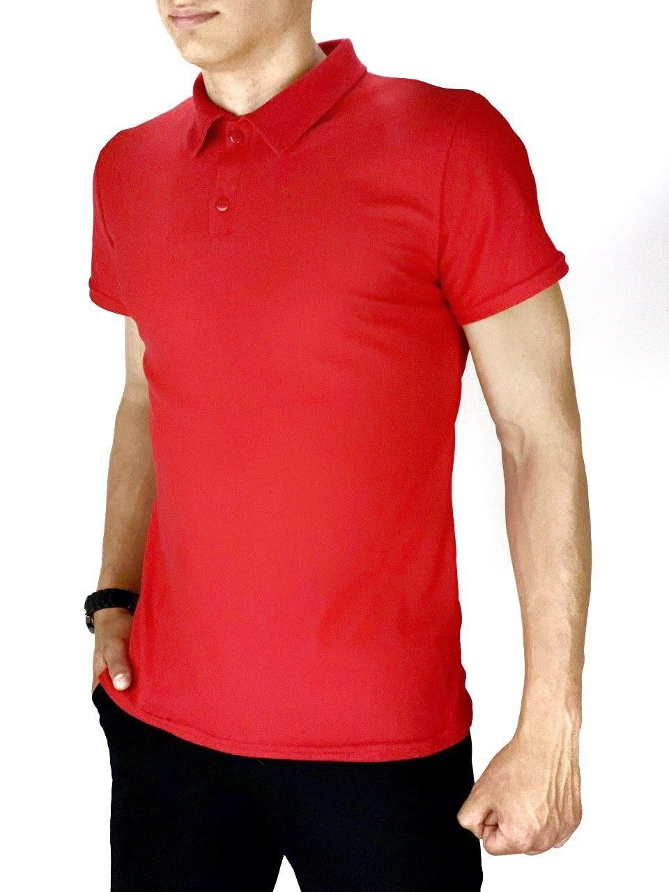 Мужская футболка поло Intruder LaCosta красная