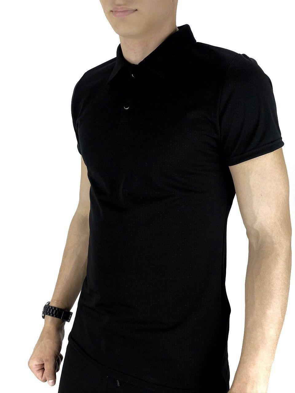 Мужская футболка поло Intruder LaCosta черная
